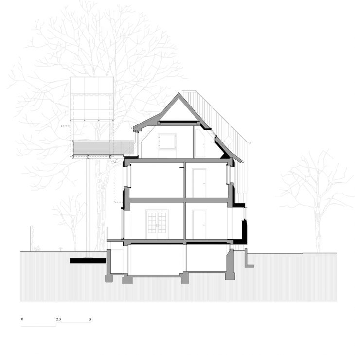 House with a Tree by Sauter von Moos