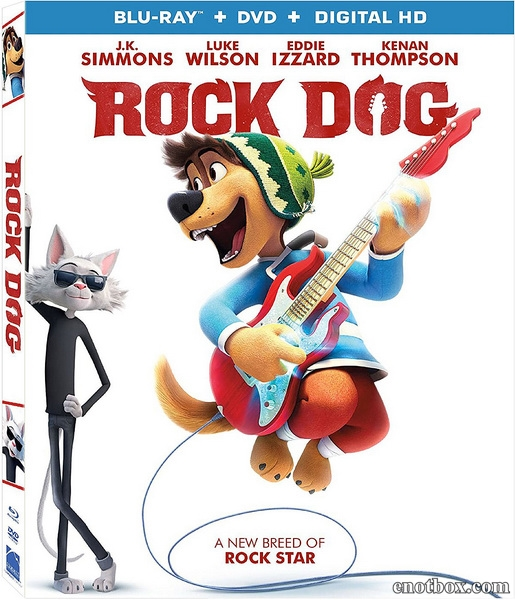 Рок Дог / Rock Dog (2016/BDRip/HDRip)
