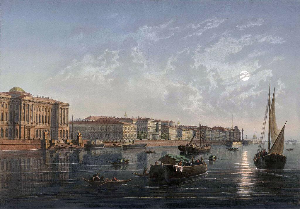 Университетская набережная в XIX веке.jpg