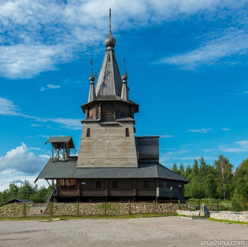 Церковь Святителя Николая в Повенце