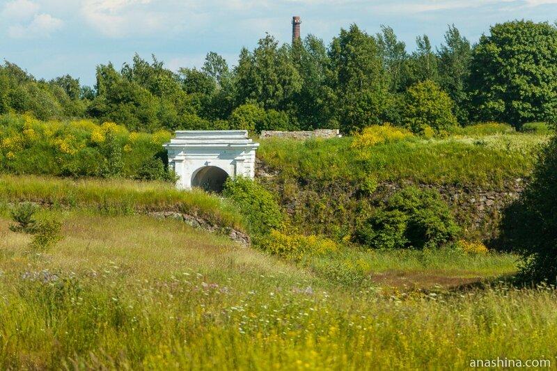 Внешние Фридрихсгамские (Равелинные) ворота Анненских укреплений, Выборг