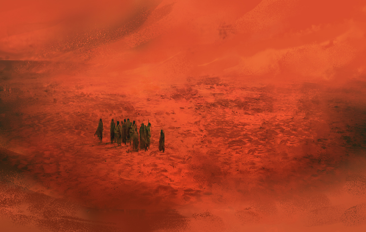 Dune Inspired Concept Art by Simon Goinard