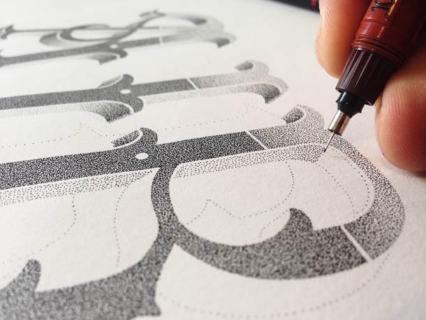 Hand Lettering - Superbes typographies de Xavier Casalta