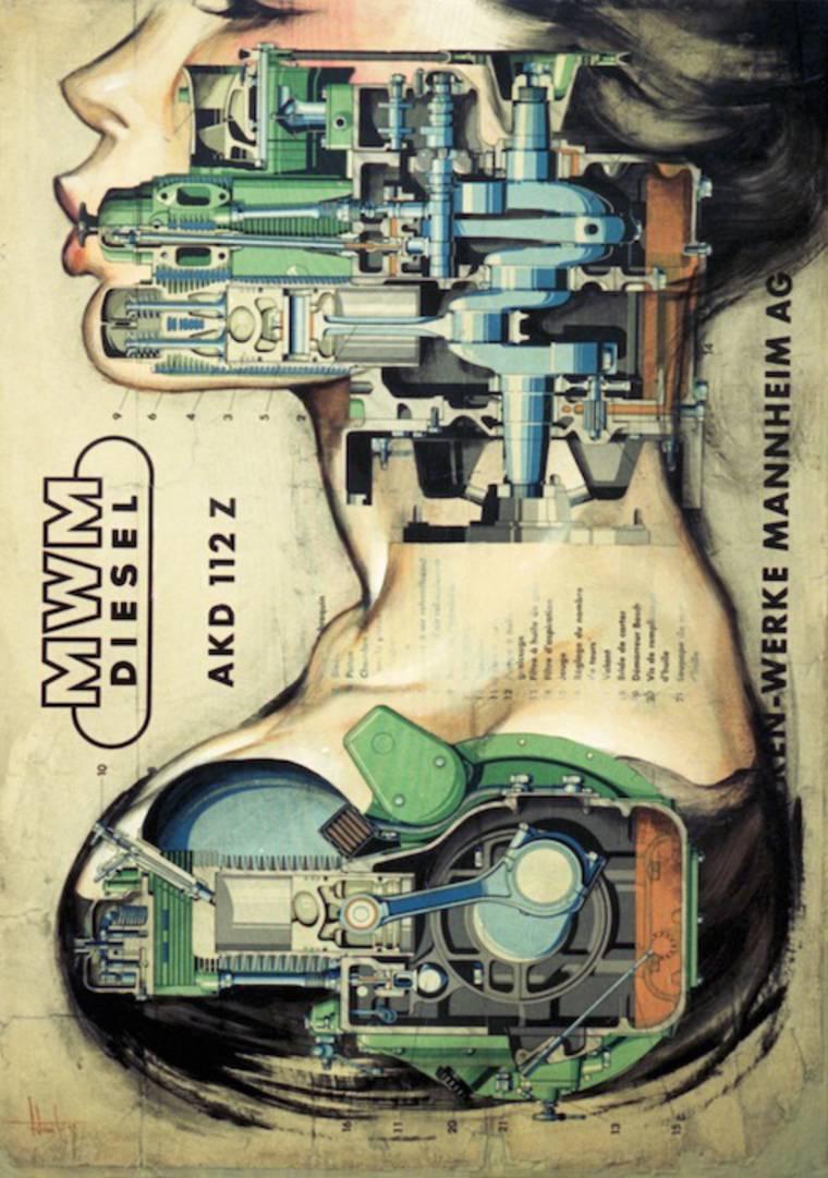 Anatomias - Les pin-ups mecaniques de Fernando Vicente