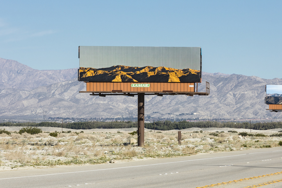 Incredible Billboards with California Landscape (5 pics)