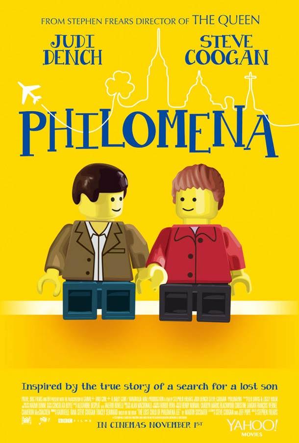 Les 9 nomines a l'Oscar du meilleur film recrees en LEGO
