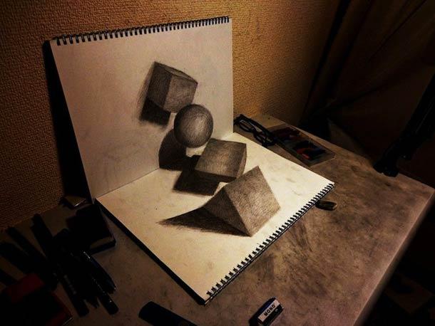 3D illustrations - 25 creations de Nagai Hideyuki
