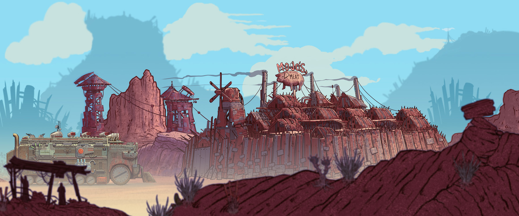 BEDLAM Concept Art and Illustrations