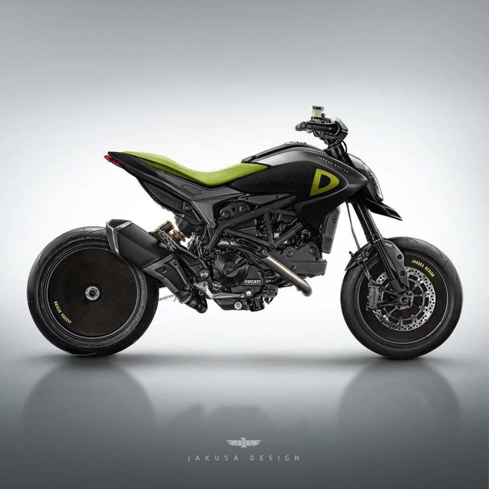 Jakusa Design: скэтчи Ducati