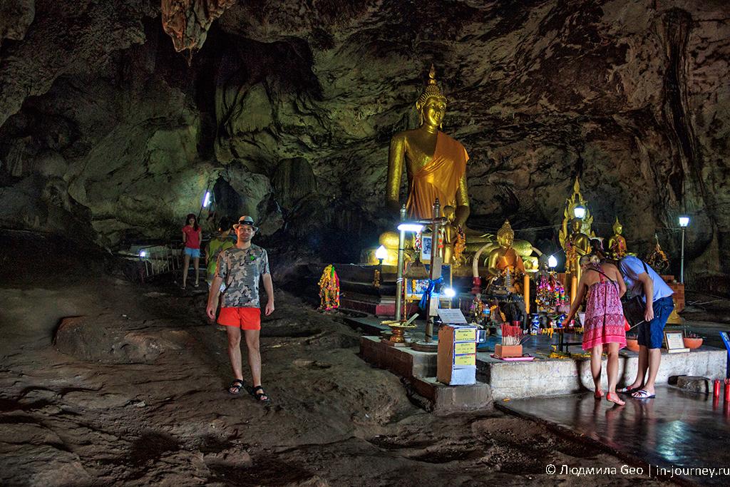 пещера золотого Будды на реке квай