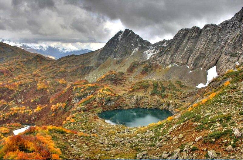 На Кавказе. Озеро Евгении Морозовой .jpg