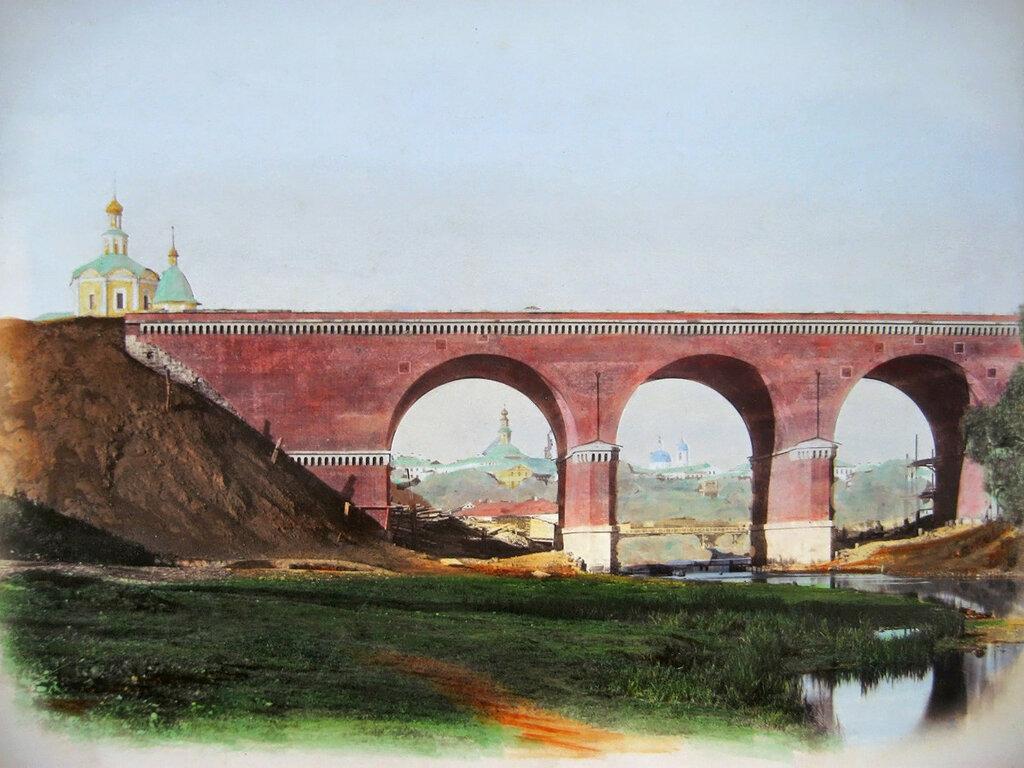 198596 Железнодорожный мост через реку Яузу.jpg 1870-е раскр. фото Андроников виадук.jpg