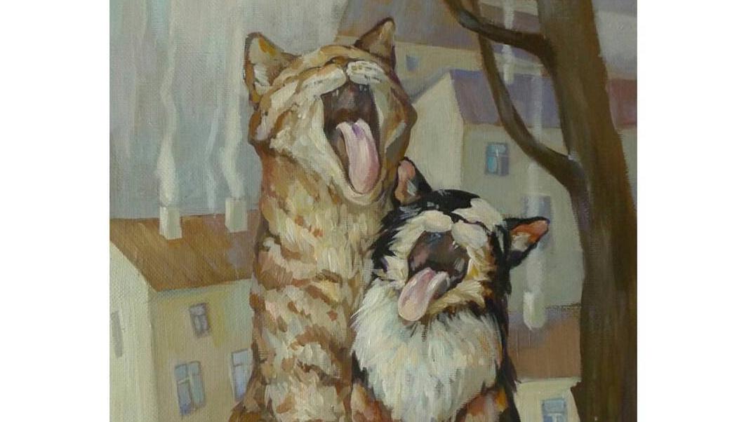 Кира Панина. Коты, кошки и другие.
