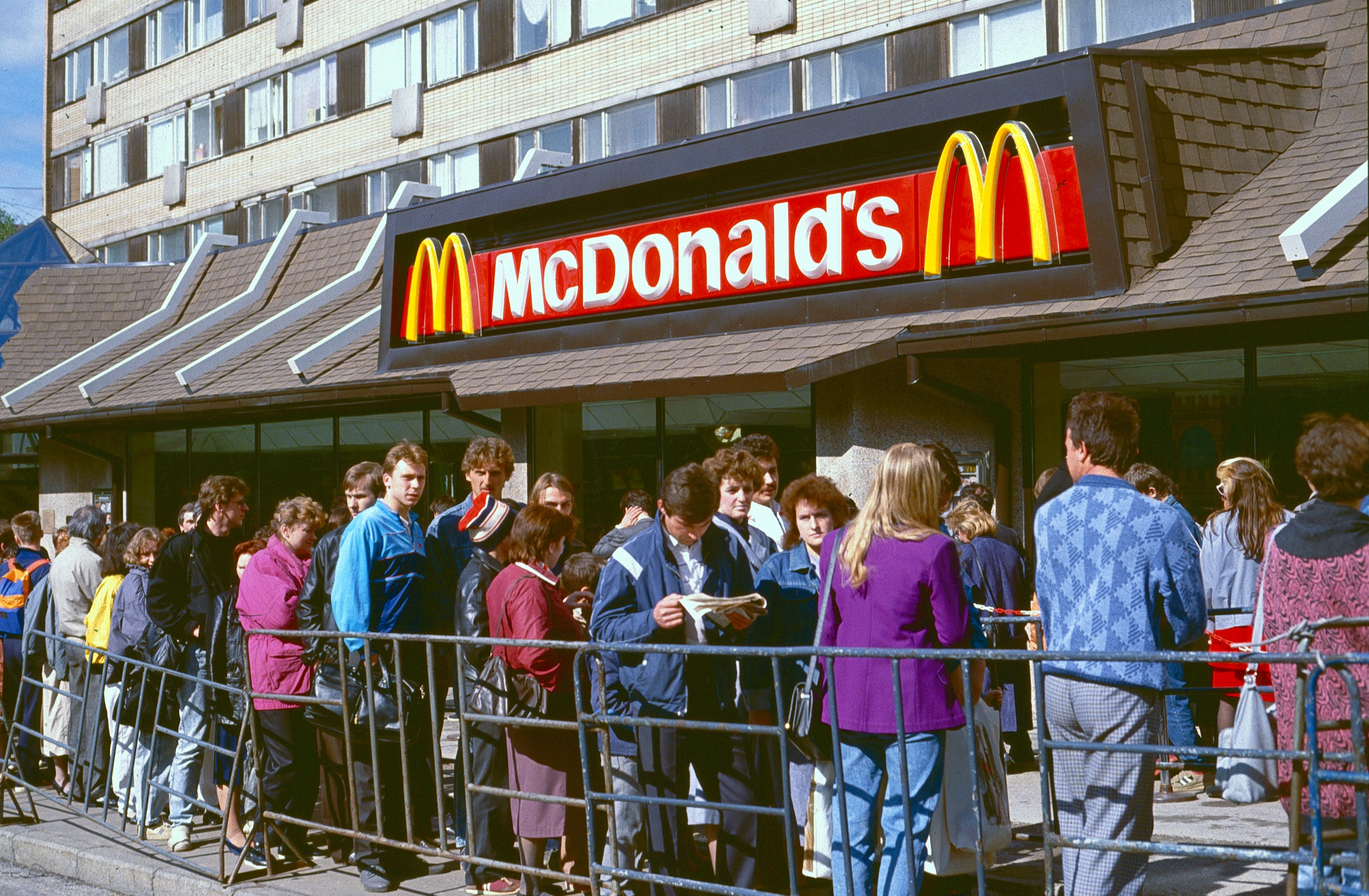 Макдональдс пришел в Москву