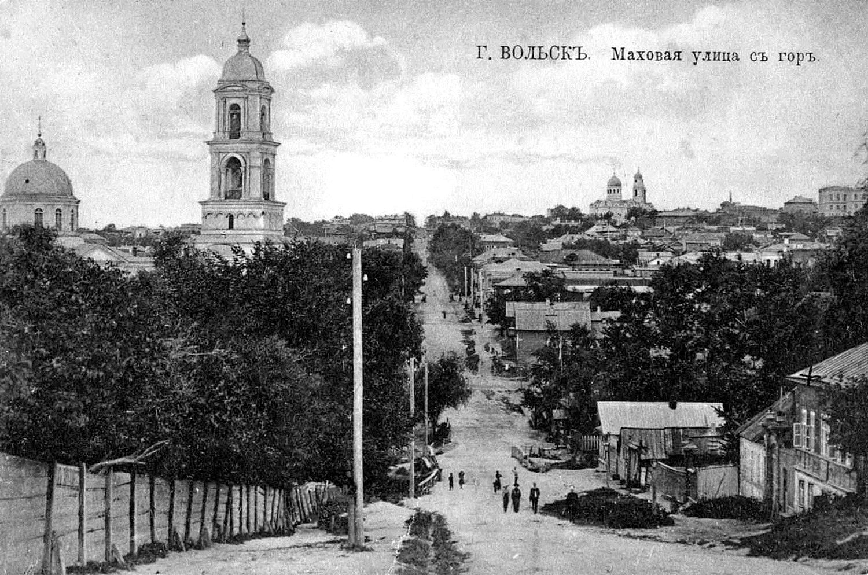 Моховая улица и Единоверческая церковь