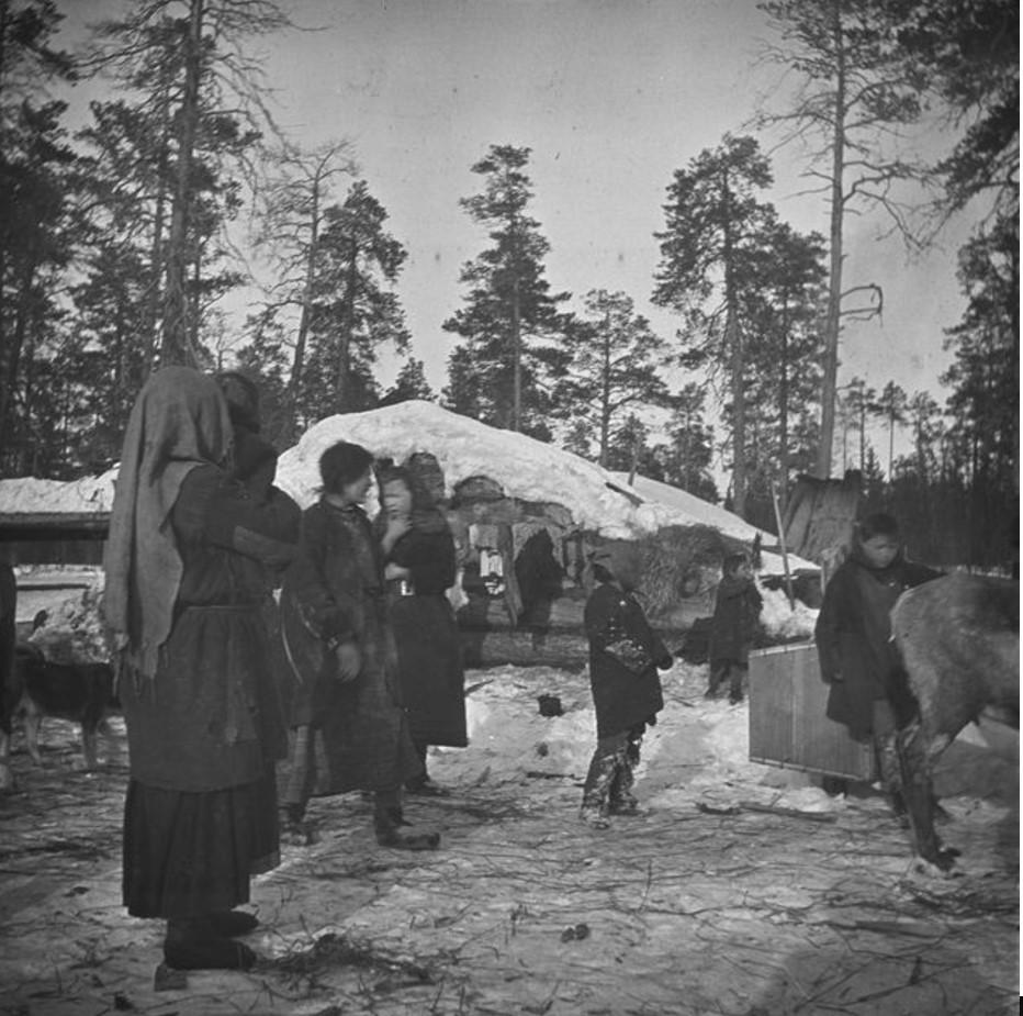 123. Отъезд из временного лагеря