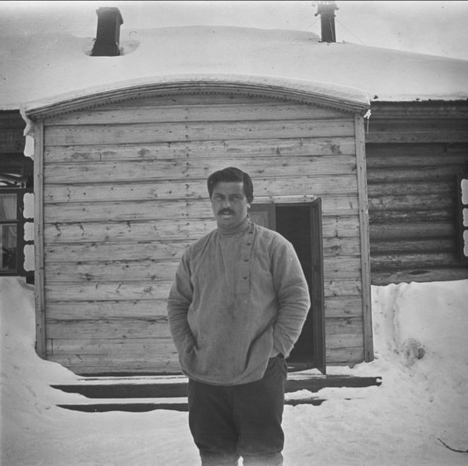 174. Село Ларятское. Торговец В.П. Трофимов