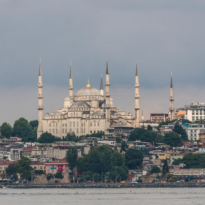 Голубая мечеть - Мечеть Султанахмет
