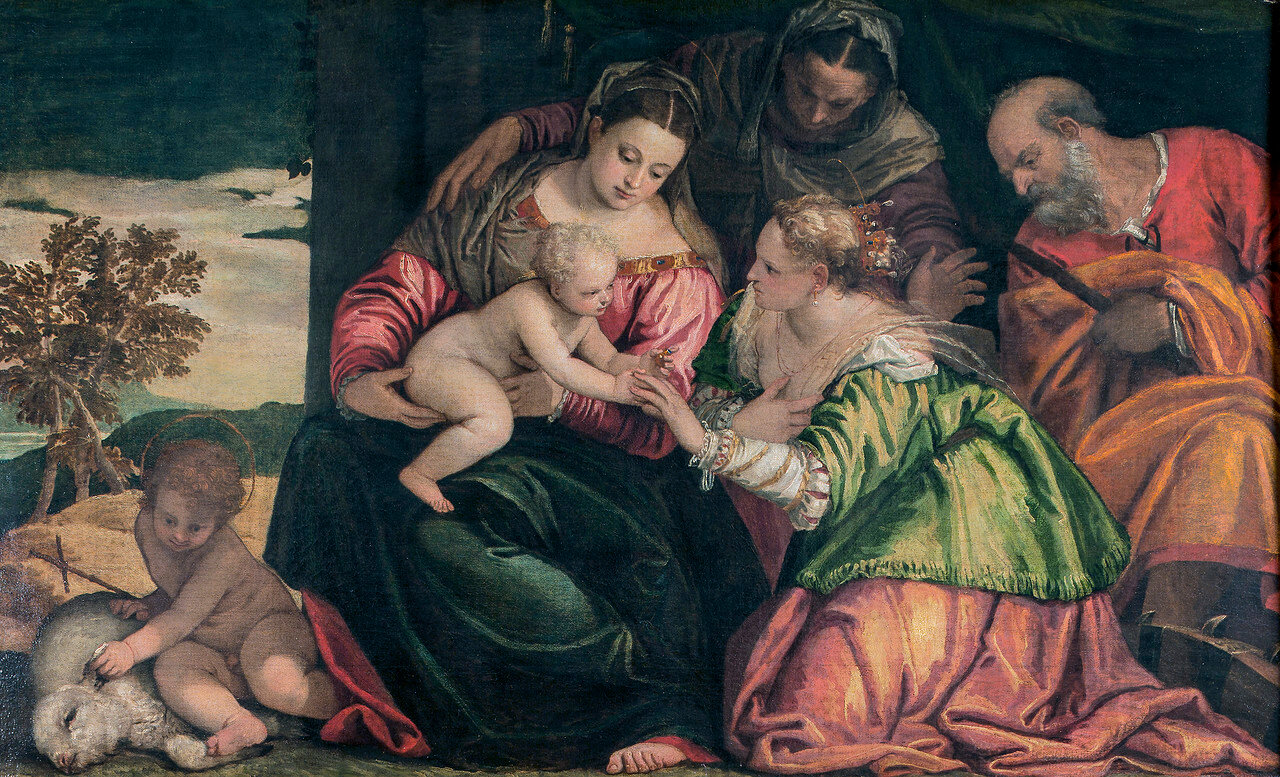 The Mystic Marriage of St Catherine, by Paolo Cagliari known as Veronese