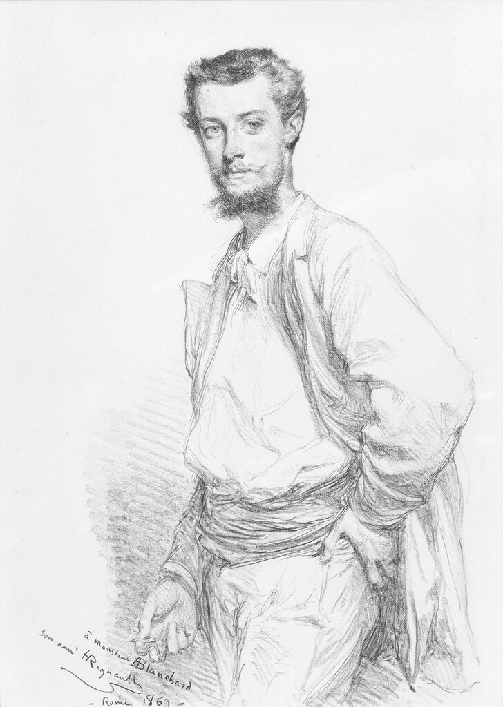 Edouard-Théophile Blanchard, by Henri-Alexandre-Georges Regnault