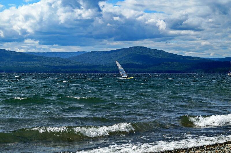 озеро Тургояк. Челябинская обл