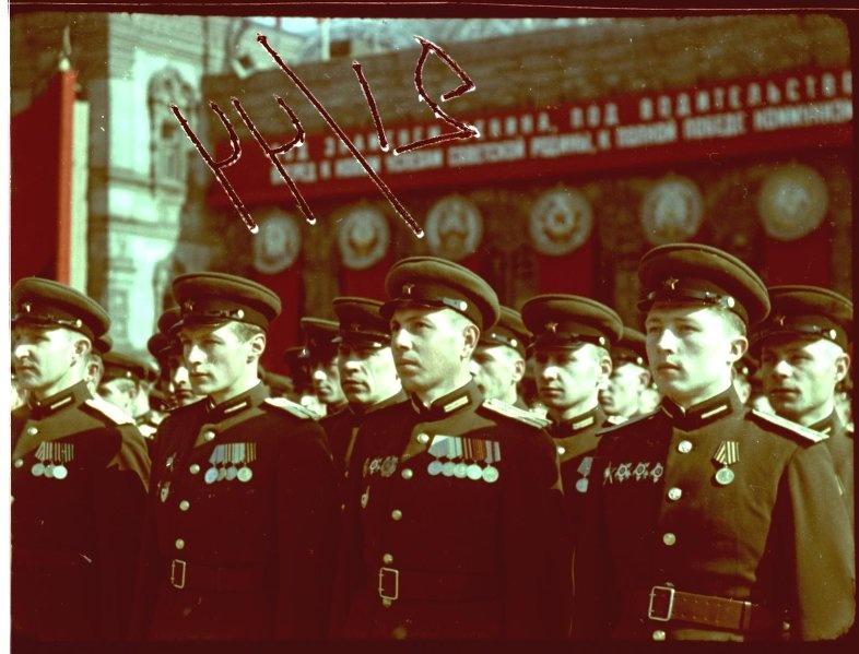 Первомайская демонстрация 1947 г. в Москве. Владислав Микоша10.jpg