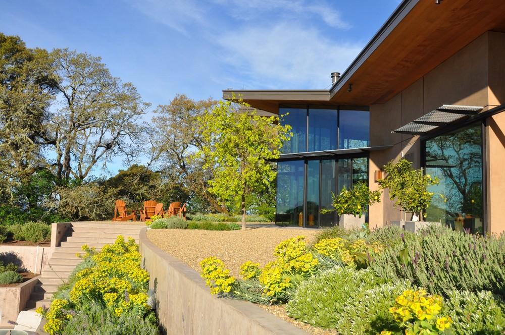 Дом пенсионеров-геофизиков в Северной Калифорнии