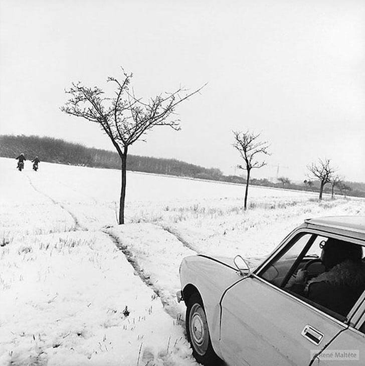 Французский фотограф Рене Мальтет