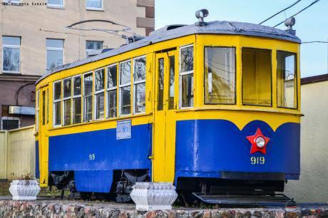 На экскурсионный маршрут в Киеве выпустят старинный трамвай. ФОТО
