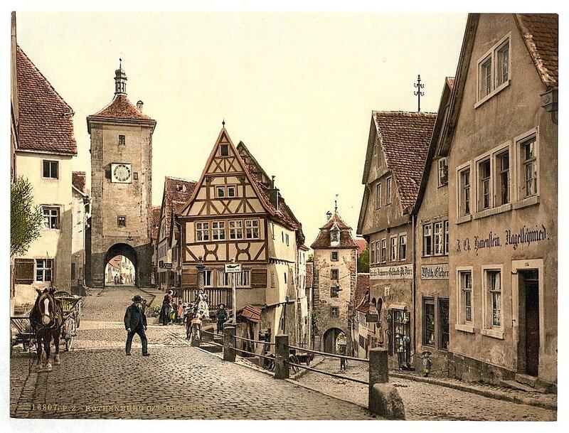 Ploenlein, Ротенбург (т. е. об-дер-Таубер), Бавария, Германия