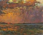 Лучи солнца холст, масло 50 x 40 см. 1980.