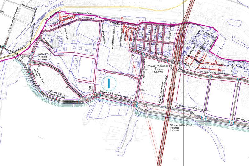 Транспортная инфраструктура Запанской