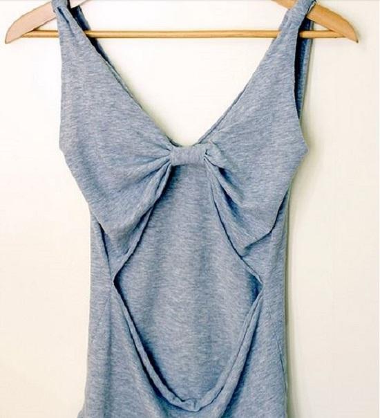 Как сделать из футболки красивую футболку