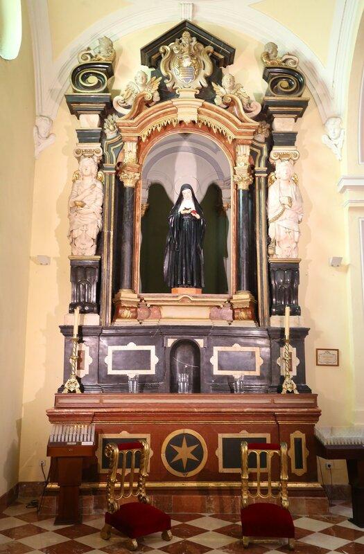 Малага. Церковь Святого Августина (Iglesia de San Agustín)