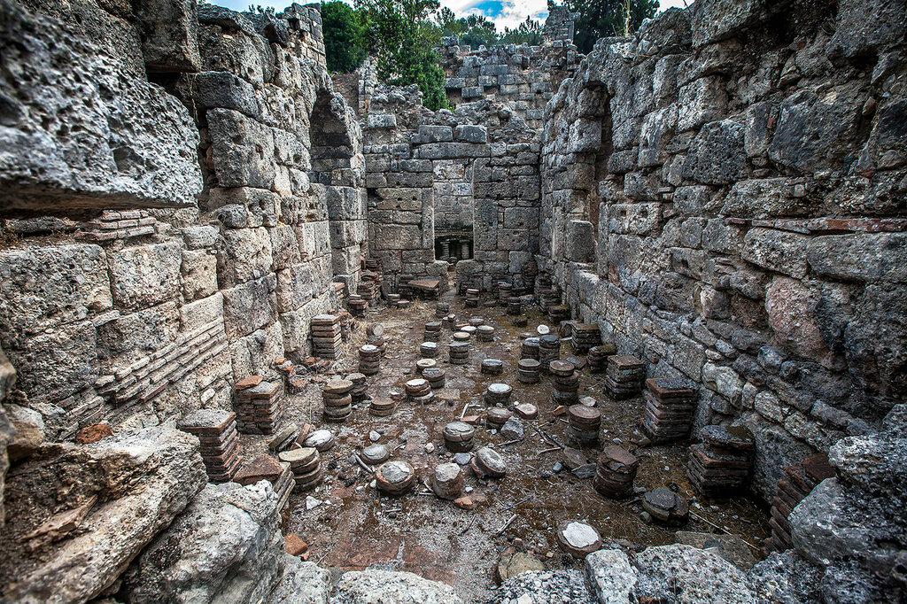 Древние бани Фаселиса...
