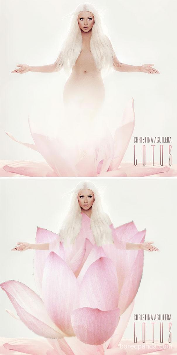 Альбом Кристины Агилеры Lotus.