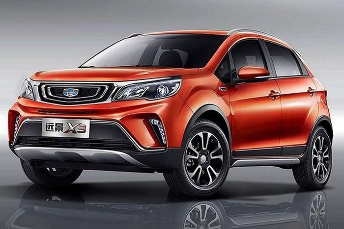 Китайская Geely показала альтернативу Renault Sandero Stepway