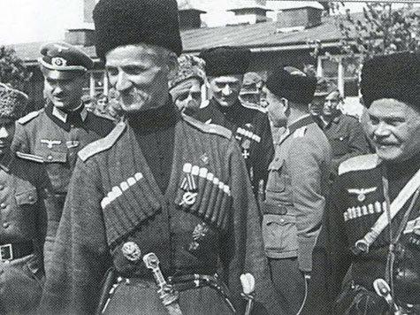 Атаман Науменко и нацисты