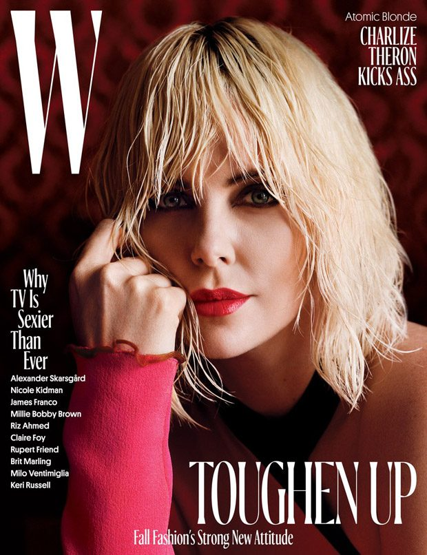 Charlize Theron Stars in the Cover Story of W Magazine August 2017 Issue (5 pics)