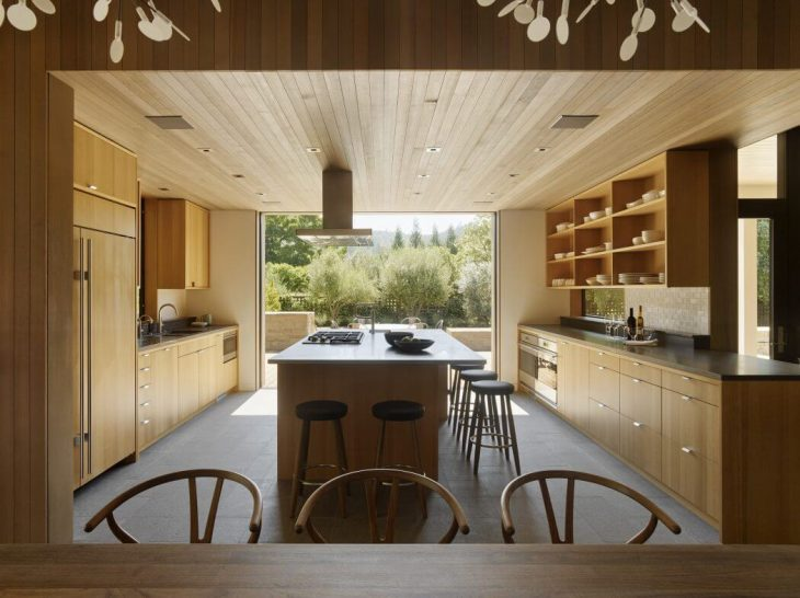 Wine Country Farmhouse by Bohlin Cywinski Jackson