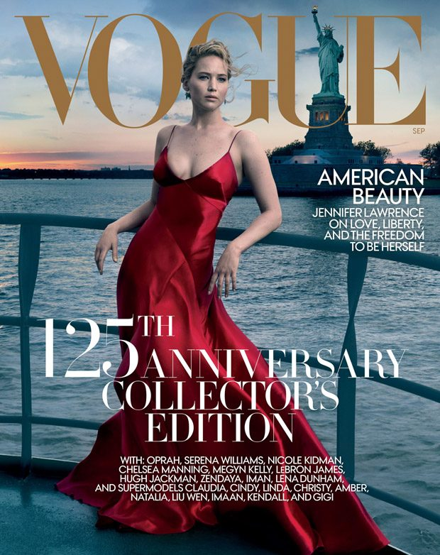 Jennifer Lawrence Stuns for American Vogue September 2017 Issue