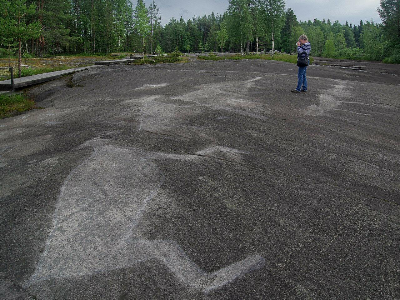 Беломорские петроглифы. Автор фото: Юрий Семенов
