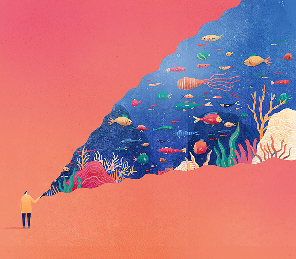 Whimsical Editorial Illustrations by Mark Conlan