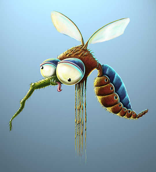 Insects Illustrations – Breaking the Stereotypes