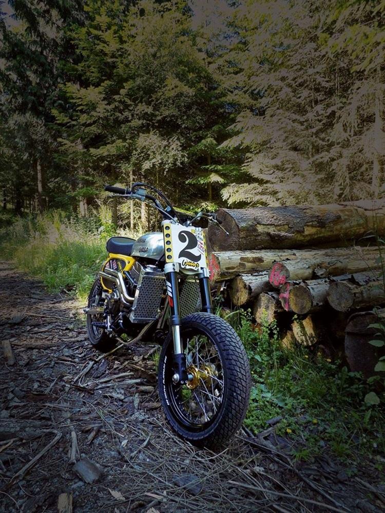 Wasp Motorcycles: трекер Yamaha XSR700