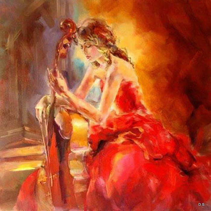 Анна Разумовская. Танец, музыка, страсть.