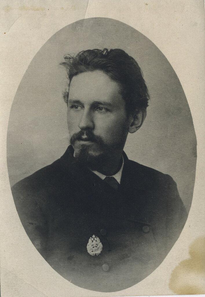 Портрет муромского  художника Петра Целебровского. 1900