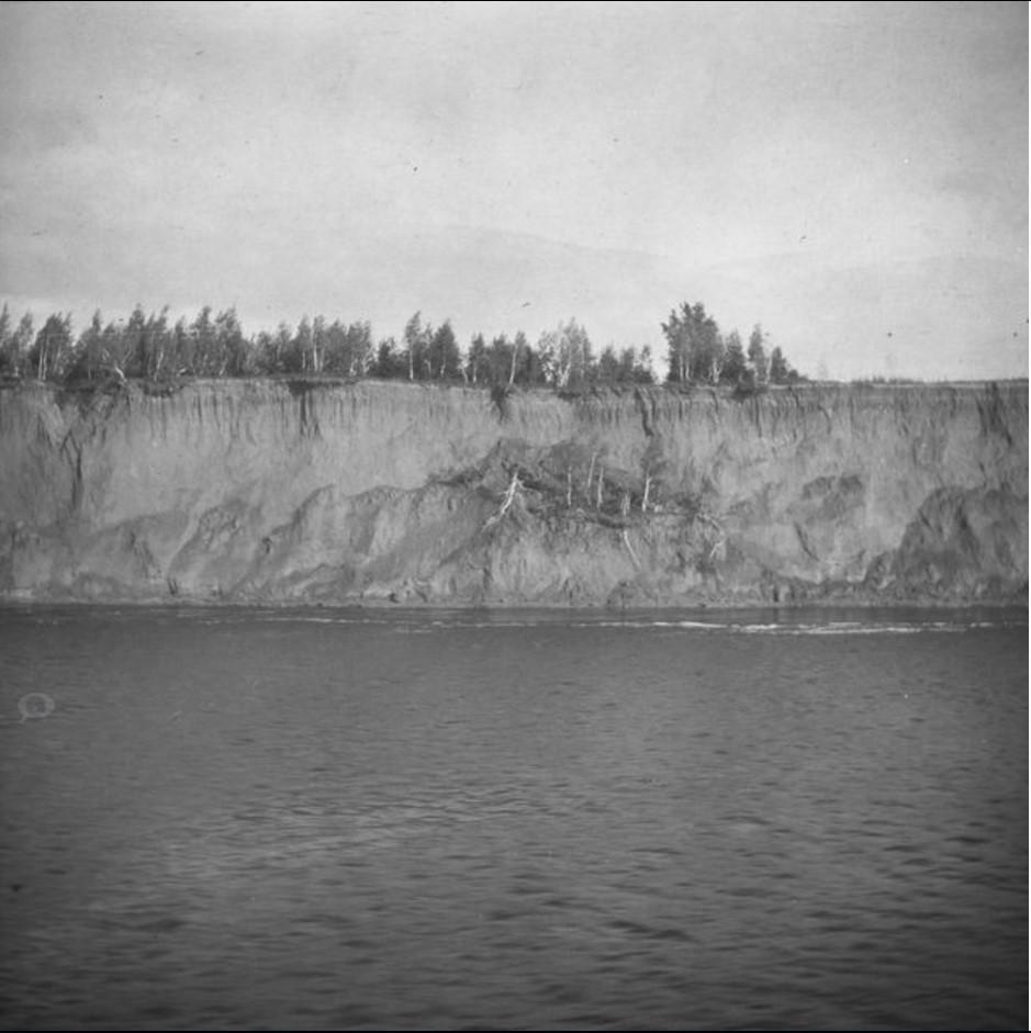 Берег реки Обь в Тобольском уезде