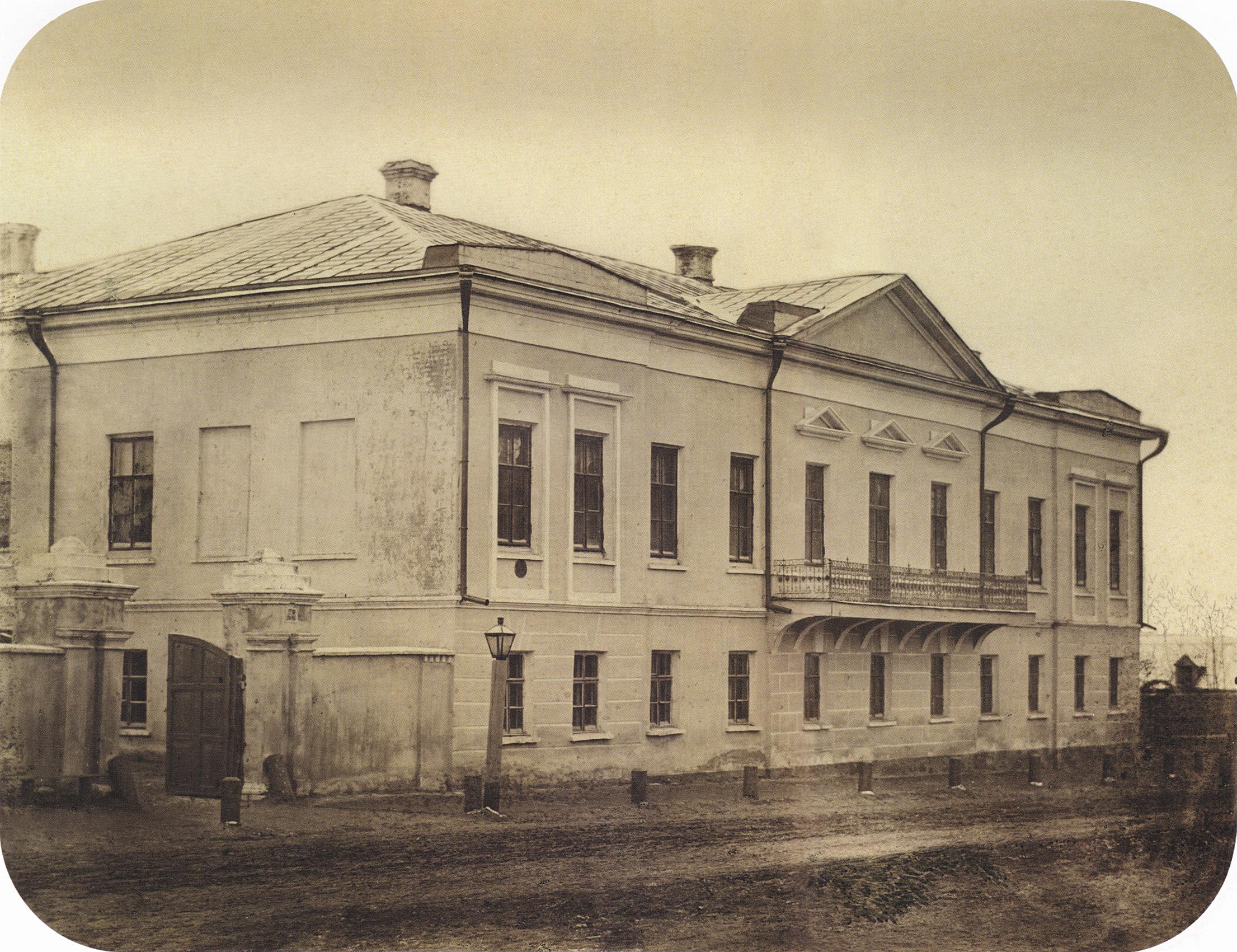 Владимирская улица. Жилая застройка. Дом Н.Г. Рюмина. 1864