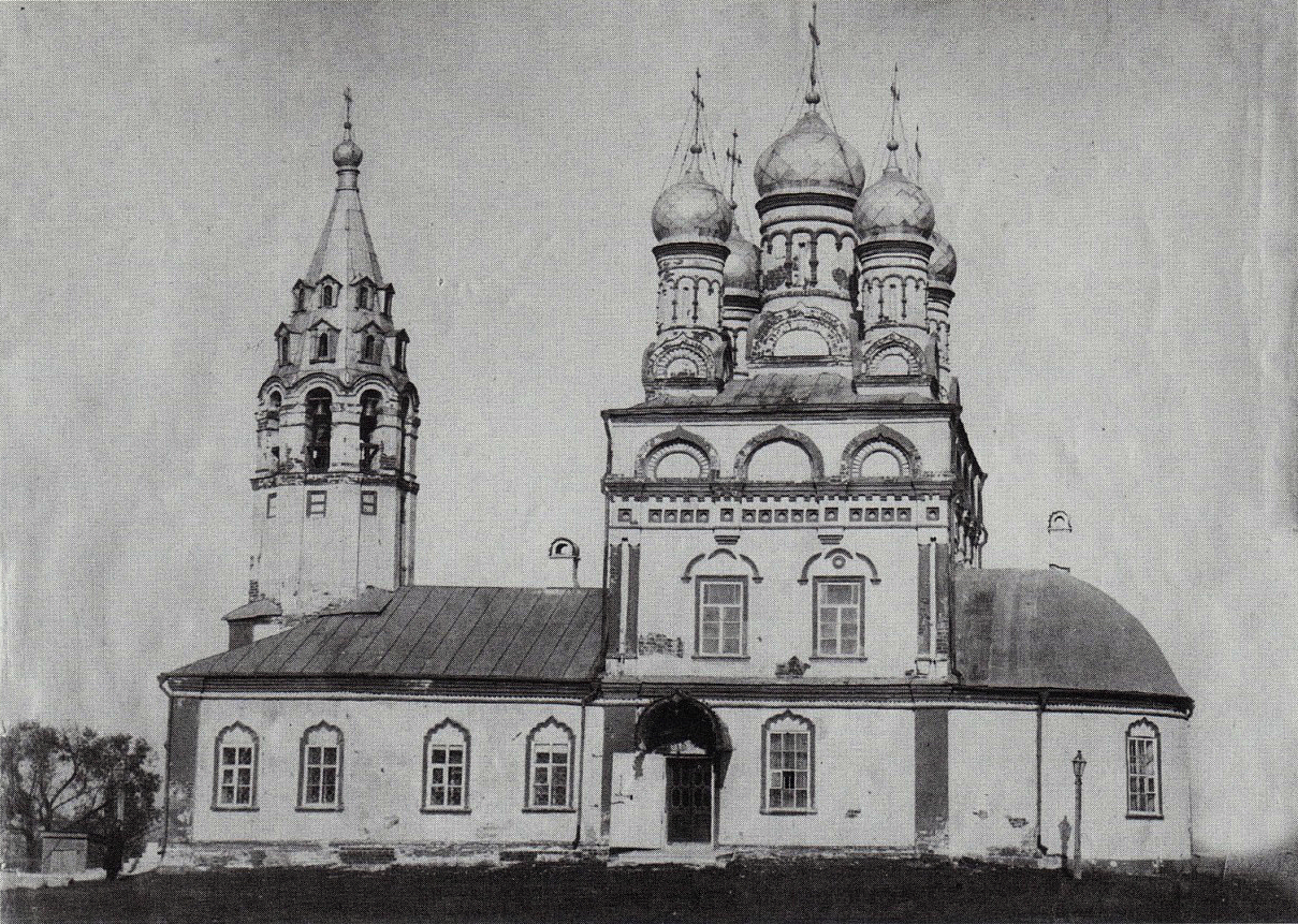 Церковь Спаса на Яру в остроге